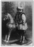 Stanisław Vincenz jako dziecko