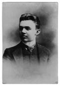 Stanisław Vincenz w wieku maturalnym