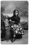 Irena Vincenzowa jako cyganka w przedstawieniu szkolnym