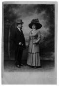 Leon i Rozalia Eizenmanowie, rodzice Ireny Vincenz