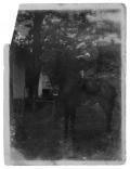 Słoboda, Stanisław Vincenz na koniu z synem Staśkiem
