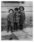 Modlin, Staśko Vincenz w środku ze swym kuzynem (po prawej) i kolegą (po lewej)