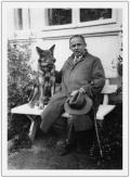 Słoboda, Stanisław Vincenz ze swym psem