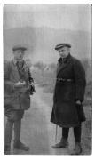 Słoboda, dr Jaroski po lewej i Stanisław Vincenz po prawej