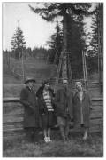 Bystrzec, Marian Haleniak, Irena Vincenzowa, Tadeusz Wilczyński i Roma Kac