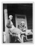 Worochta, Irka Chwijałkowska i Basia Vincenz