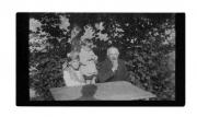 Słoboda, Zofia i Feliks Vincenzowie (matka i ojciec Stanisława Vincenza), Alinka Vincenz
