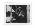Bystrzec, Irena Vincenzowa na balkonie domu