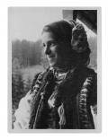 Bystrzec, Niuta Lipszyc w stroju huculskim