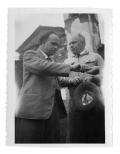Malcantone, zjazd panidealistów, Hans Zbinden i Stanisław Vincenz