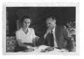 Berno (?), Marina Segantini i Hans Zbinden