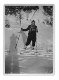 Bystrzec, Irena Vincenzowa na nartach
