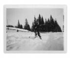 Bystrzec, Basia Vincenz na nartach