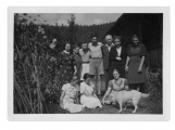 Sierpień 1939, Bystrzec, grupa zaproszonych gości