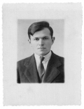 Stanisław Aleksander Vincenz, zdjęcie paszportowe