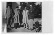 Nagy Gejök, Węgry, październik 1939, Kendy, A. Miłobędzki, Stanisław i Stanisław Aleksander Vincenz, Jerzy Stempowski
