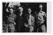 Quackenbrück (Niemcy), Tadeusz i Stanisław Vincenz, Bazyli Przybyłowski, Andrzej Vincenz