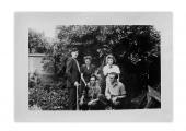 Quackenbrück (Niemcy), Ihor Szewczenko, Barbara Vincenz, żona Ihora Szewczenki, Andrzej Vincenz, kolega