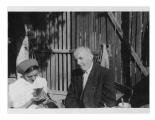 Uriage, Irena Vincenzowa i kot, Stanisław Vincenz