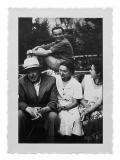 La Combe, La Chapelle. Stanisław i Irena Vincenzowie, Wojtek Kasznica, Barbara Vincenz