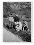 Okolice Grenoble, Kazimierz Vincenz, Jeanne Hersch, Halszka i Irena Vincenzowa