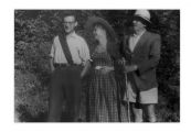 La Combe, La Chapelle. Andrzej Vincenz, Annelies Engel, Stanisław Vincenz