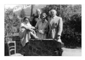 La Combe, La Chapelle. Irena Vincenzowa, Peter Marbach, Maria Wojciechowska, Stanisław Vincenz