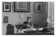 Neapol, John Marbach w biurze dyrektora Szkoły Szwajcarskiej