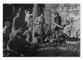 Neapol, Villa Florita. John Marbach w Szkole Dziecięcej Szkoły Szwajcarskiej