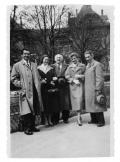 Genewa, mąż kuzynki Halszki Vincenz, Barbara i Stanisław Vincenzowie, kuzynka Halszki Vincenz, Halszka Vincenz