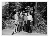 La Combe, La Chapelle. Andrzej Vincenz, Serge Golowin, Stanisław Vincenz, Zürcher