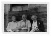 Adelboden, Willy Schuppisser, Stanisław Vincenz i Hans Zbinden