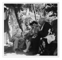 La Combe, Hans Zbinden, siostry Lannat, Stanisław Vincenz