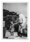 La Combe, Stanisław Vincenz ze swym wnukiem Feliksem