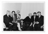 Essen, konsul Jan-Łodzia Brodzki, NN, Józef Czapski, Stanisław i Andrzej Vincenzowie, Jasio Senkiw