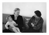 Lozanna, Irena Vincenzowa, Selma Wanders i André Wanders w wieku dziecięcym