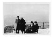 Grenoble, La Bastille, Gustav Goldberg, Irena Vincenzowa, Krysia Goldberg, Stanisław Vincenz