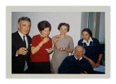 Lozanna, La Rosiaz, Kazimierz Vincenz, Astrid (?), Halszka, Irena i Stanisław Vincenzowie