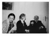 Lozanna, Irena Vincenzowa, Selma Wanders i Stanisław Vincenz