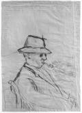 Stanisław Vincenz, rysunek Dante Elsnera, 1951-55
